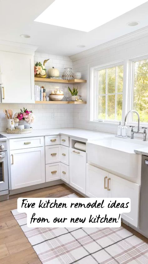 5 Kitchen Remodel Ideas From Our New Kitchen!