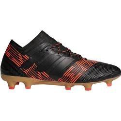 Adidas Men's Nemeziz FG Soccer Shoes (Black/Medium Red, Size - Adult Soccer Shoes at Academy Sports