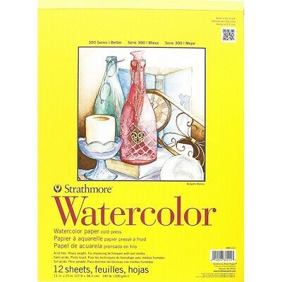 Strathmore 300 Series Watercolor Paper Pads 11x15 11x15 Pad