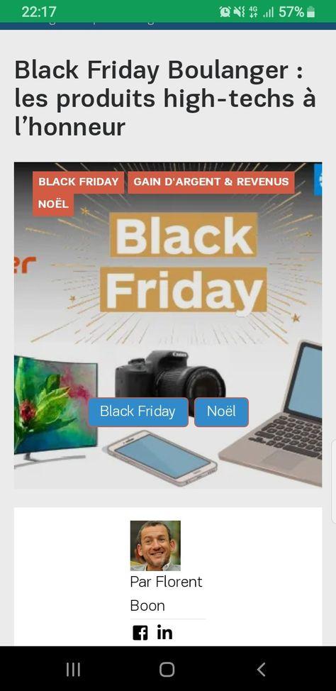Black Friday Boulanger Les Produits High Techs A L Honneur Vieux Ordinateurs Produits Apple Et Produits