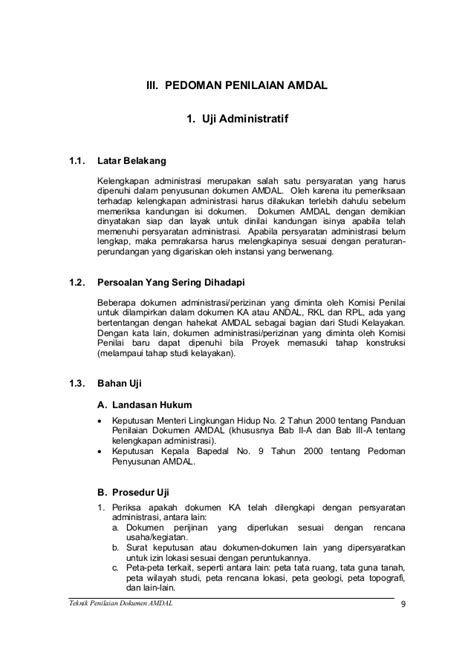 Contoh Dokumen Amdal Bandara Contoh Dokumen Amdal Bandara