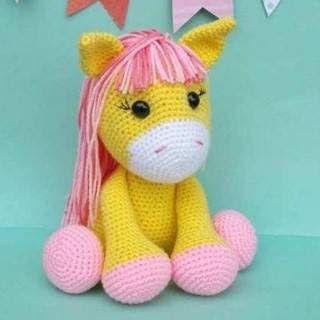 CROCHET PATTERN in English and Spanish - Mimi the Friendly Unicorn ... | 320x320