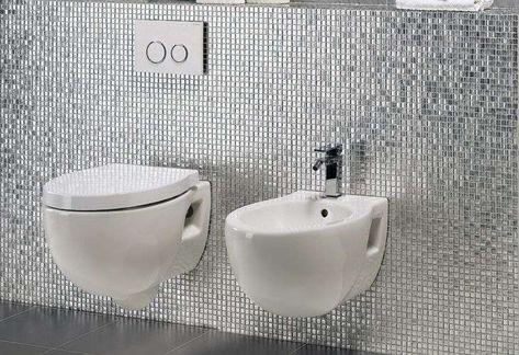 Bagni moderni con mosaico arredamento pinterest bagni moderni