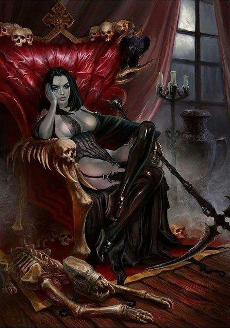 Femdom lesbian vampires