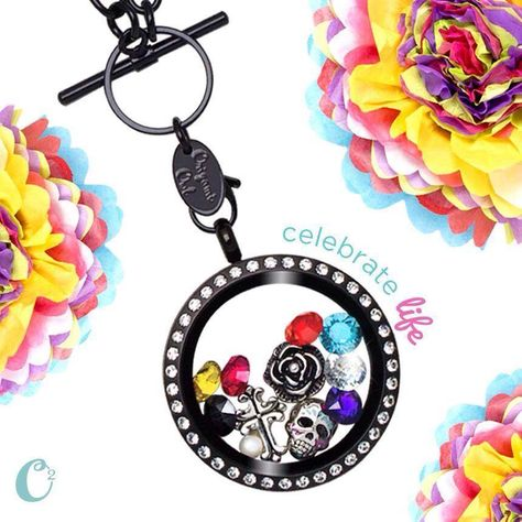 Day of the Dead Sugar Skull charm from Origami Owl - To place your order, visit my website at http://yourcharminglocket.origamiowl.com/ Have further questions, message me on Facebook https://www.facebook.com/YourCharmingLocket. --LIKE OUR FAN PAGE FOR A CHANCE TO WIN A FREE CHARM. 3 WINNERS EVERY MONTH--- Want more than just one locket, consider joining our team for an extra income.