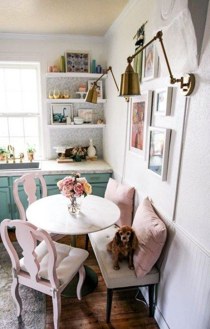 Kitchen Table Decorations For Home Tiny House 45 Super Ideas Small Dining Room Table Dining Room Small Apartment Dining