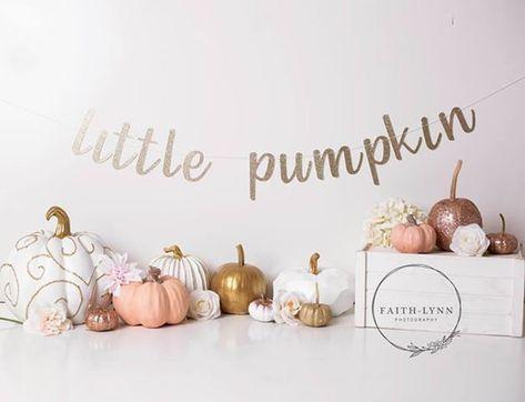 Little Pumpkin Banner Cake Smash Photo Prop Glitter Word Fall First Birthday, Fall 1st Birthdays, Pumpkin First Birthday, Pumpkin 1st Birthdays, Pumpkin Birthday Parties, First Birthday Photos, Baby Birthday, Birthday Gifts, Birthday Ideas