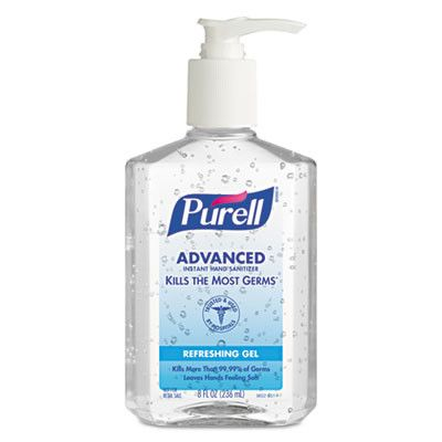 Sanitizer Hand Purell 8oz Hand Sanitizer Sanitizer Bottle