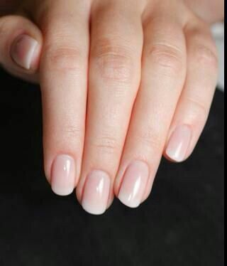 Love These Look So Real French Nails Manicure Fun Nails