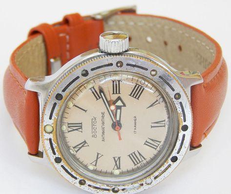 6599e9fc4dcc Soviet Watch Vostok Komandirskie
