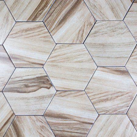 wood look tile wood hexagon