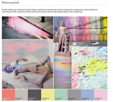 A/W 2013 Colour Trend