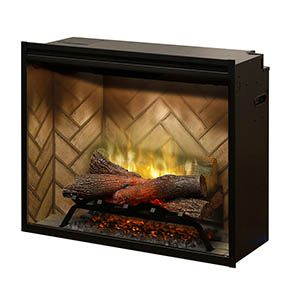Dimplex 30 Inch Revillusion Built In Electric Fireplace Rbf30 In