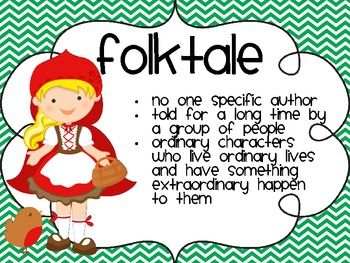 Fables, Folktales and Fairy Tales !