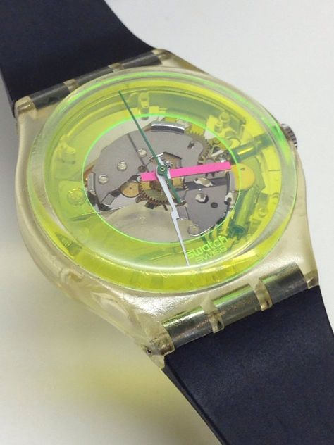Rare Vintage Swatch Watch Techno Sphere by ThatIsSoFunny