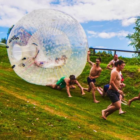 Zorb Balls Infaltable Human Hamster Ball In 2020 Beach Girls Beach Water