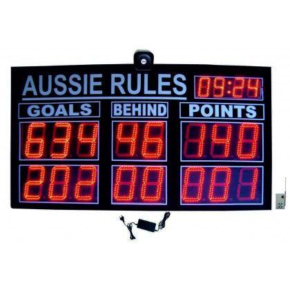 Aussie Rules Led Scoreboard Scoreboards Aussie Scoreboard
