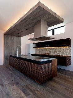 ペニンシュラキッチン実例集 ロフト設計 自宅で キッチンデザイン