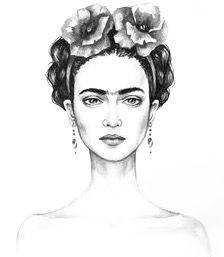 Frida Kahlo Frida Kahlo Dibujo Frida Khalo Dibujos Frida Dibujo