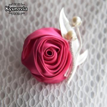 223fb068512a2 Kyunovia Custom Made Wedding Boutonniere Buttonhole Grooms ...
