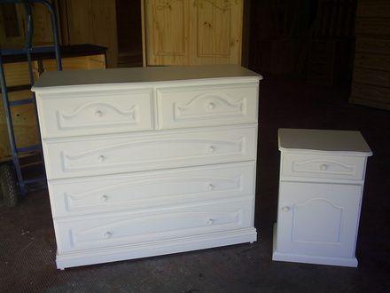 Como Pintar Muebles De Pino. Awesome Fabrica Muebles Pino Laqueados ...