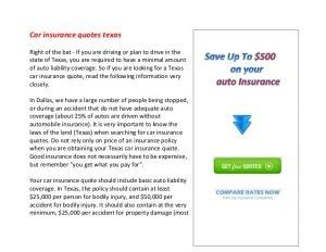 8 Things You Should Know About Online Insurance Quotes For Cars