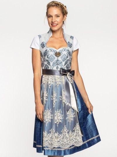 Alpenherz Hochzeits Dirndl In Blau Viktoria Hellblau Limberry De Dirndl Alpenherz Dirndl Blaue Mode