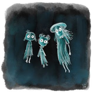 Holly Does Art Sketch A Day Coraline 6 The Ghost Children From Coraline I Loved These Characters I Wish We Kn Coraline Art Coraline Tattoo Coraline Drawing