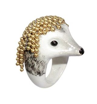 Hedgehog with chain ring