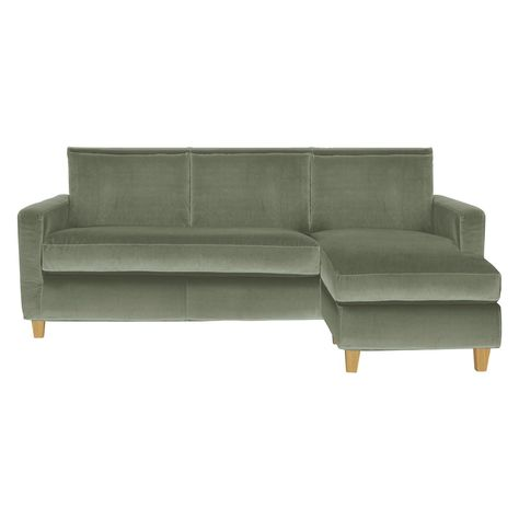 Chester Sage Green Velvet 3 Seater