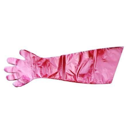 50PCS Disposable Film Gloves Long Arm Veterinary Examination Farm Vet Glove
