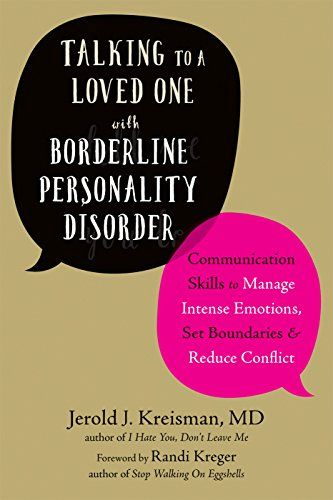 Free Download Pdf Talking To A Loved One With Borderline