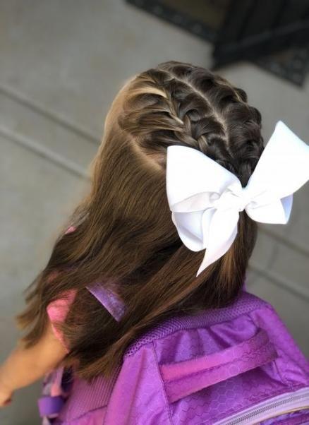 New Wedding Hairstyles For Kids Princesses Little Girls 35 Ideas Girl Hair Dos Flower Girl Hairstyles Kids Hairstyles Girls