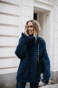 Get ready for the season with warm & cozy sweaters? Oversized sweaters are not only comfortable, but they last forever as a staple in you…