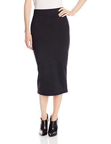 5d7a1be30 BCBGeneration Women's Midi Pencil Skirt, Black, Small BCB… | Skirts ...