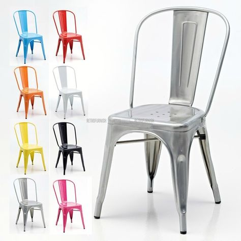 Inspired by a classic design from the house of Xavier Pauchard, these stand alone Retro Cafe Side Chairs are simple in their form yet functional. The sleek lines of the modernist movement is becoming increasingly popular in recent years. These highly versatile Retro Cafe Side Chairs are ideal for use in bistros, brasseries and also look absolutely stunning in a home environment.