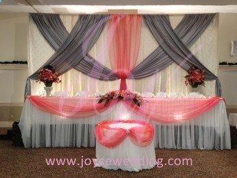 Coral Wedding Decoration