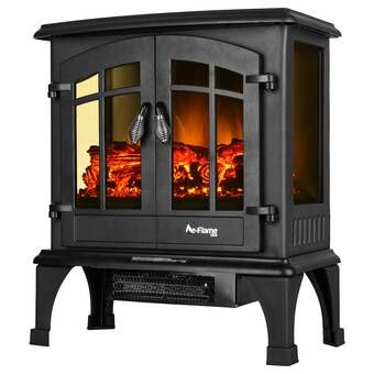 Prunty Electric Fireplace Stove Free Standing Electric Fireplace Stove Fireplace Electric Fireplace