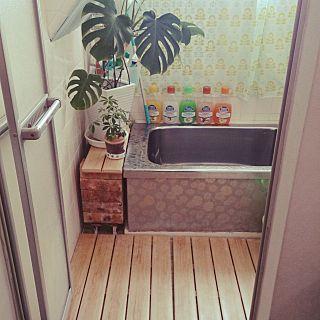 すのこ プラすのこ 風呂場 昔ながらの風呂場 バス トイレ などの