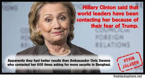 foreign leaders contacting hillary clinton