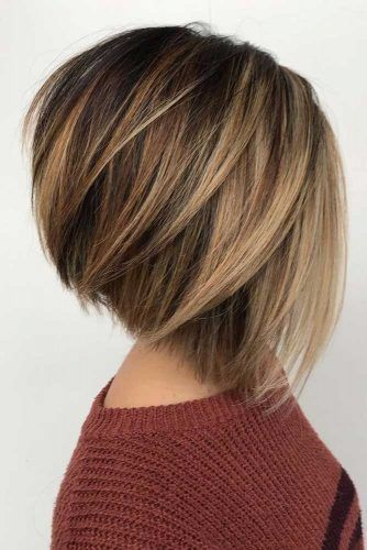 55 Flawless Haircut Ideas To Beautify All Face Shapes Layered Bob Hairstyles Short Hair Styles For Round Faces Modern Haircuts