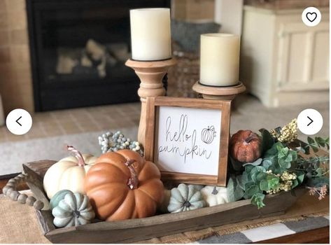 Hello pumpkin sign, fall sign, autumn sign, gift - X-Mas Easter Halloween Deco DIY - Fall decor ideas Fall Home Decor, Autumn Home, Autumn Fall, Fall Mantle Decor, Fall Kitchen Decor, Fall Apartment Decor, Rustic Fall Decor, Front Porch Fall Decor, Modern Fall Decor