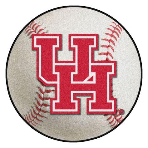 FanMats 01524 University of Houston Baseball Mat 27