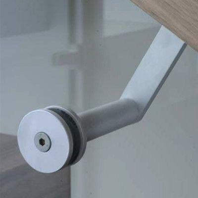 HB 502 Glass Mount For Handrail Brackets