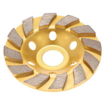 4 Inch 4 Teeth  Diamond Segment Grinding Disc For Cutting Concrete Granite Stone