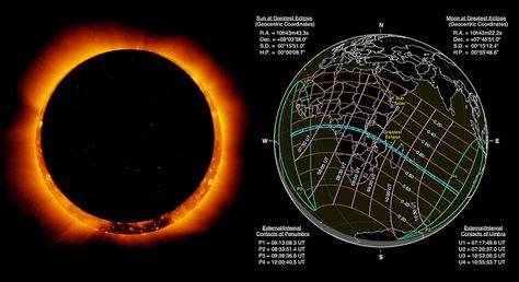 Eclipse solar anular en las selvas de África y parcialmente en Canarias