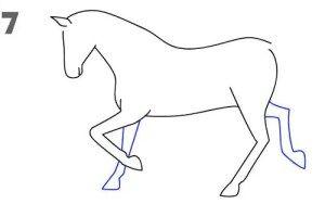 تعليم الرسم للاطفال رسم حصان خطوة بخطوة بالقلم الرصاص بطريقة سهلة وبسيطة Easy Drawings Sketches Easy Drawings For Kids Easy Drawings