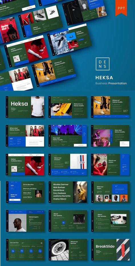Heksa Business PowerPoint Presentation Template