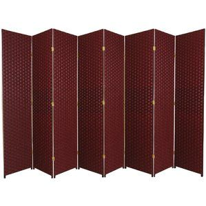 Where To Buy 84 X 158 Wassim 8 Panel Room Divider World Menagerie Panel Room Divider Room Divider Folding Room Dividers 8 ft tall room dividers