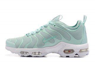 High Quality Nike Air Max Plus Tn Ultra Enamel Green White 830768 331 Women's Running Shoes Sneakers